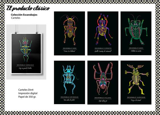 Proyecto-Identidad-Carteles-escarabajos-Bevero